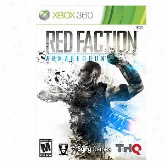 Microsoft Xbox 360 Red Faction Armageddon In proportion to Thq