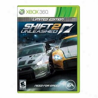 Microsoft Xbox 360 Shift 2 Unleashed By Electronic Arts