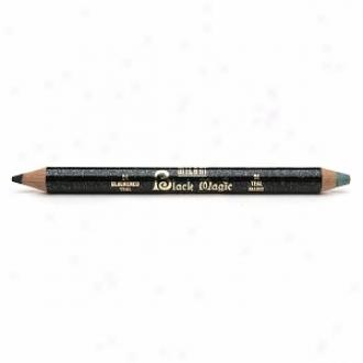 Milqni Black Magic Liner & Eye Glimmer, Blackened Teal/teal Magic
