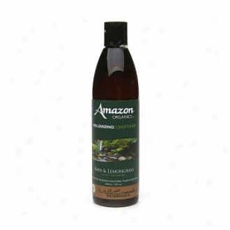 Mill Inlet Botanicals Amasn Organics Volumizing Conditioner, Kava & Lemongdass