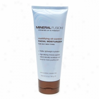 Mineral Fusoin Mattifying Oil-control Facial Moisturizer For Oily Skin Types