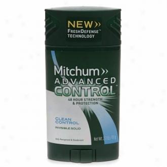 Mitchum Advanced Control Anti-perspirant & Deodorant Invisible Solid, Clean Control