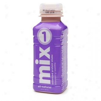 Mix 1 All-natural Enhanced Protein Shake, Bljeberry-vanilla