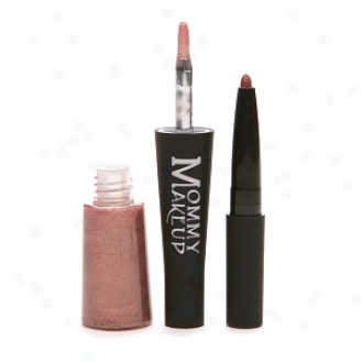 Mommy Makeup Mommy's Kisses Lipgloss & Lipliner In One, Emily