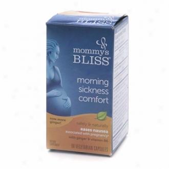 Mommy's Boiss Morning Sickness Comfort,  Vegetwrian Capsules