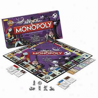 Monopoly Nightmare Before Christmas Editoni Ages 8 And Up