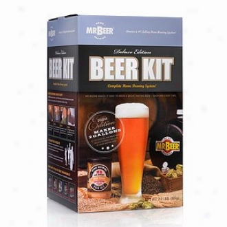 Mr. Beer Home Beer Kit, Deluxe Edition