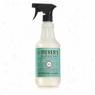 Mrs. Meyer's Clean Day Bathroom Cleaner Spray, Basil