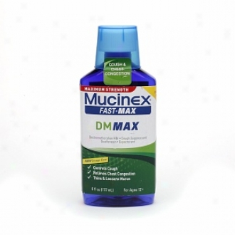 Mucinex Maximum Strength Fast-max Dm Cough & Chest Congestion, Ages 12+