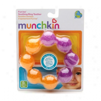 Munchkin Pleasantry Coat , Soothing Ring Teether (colors May Vary), Ages 0+