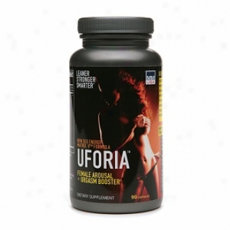 Muscle Marketing Usa Uforia Female Arousal + Orgasm Booster, Capsules