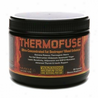 Muscle Warfare Thermofuse Ultra-concentrated Fat Destroyer//mood Enhancer, Capsules