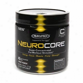 Muscletech Neurocore Super Concentrated Pre-workout Stimulant, Fruit Punch
