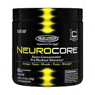 Muscletech Neurocore Super Concentrated Pre-workout Stimulating, Grape