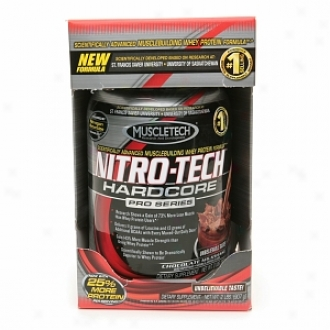 Muscletech Nitro-tech Hardcore Pro Series Whey Protein, Chocolate Milkshake