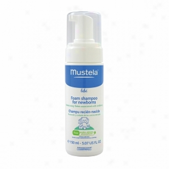 Mustela Bebe Foam Shanpoo For Newborns