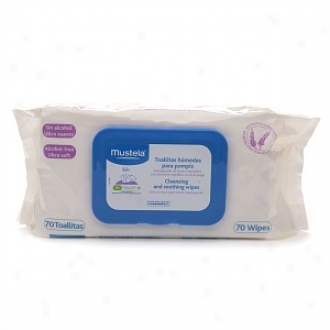 Mustela Cleansing And Soothing Wipes