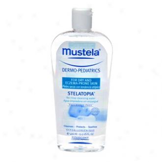 Mustela Dermo-epdiatrics, Stelatopia Non-rinse Cleansing Water, Fragrance Liberate