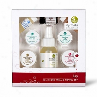 Mychelle All In One Travel And Gift Set, Dry/mature Skin