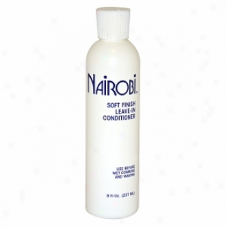 Nairobi Soft Finsh Leave-in Conditioner For Unisex - 8 Oz
