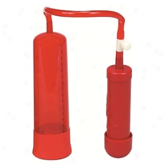 aNsswalk Super Suction Big Red Raising Penis Pump With Quick Release Valve