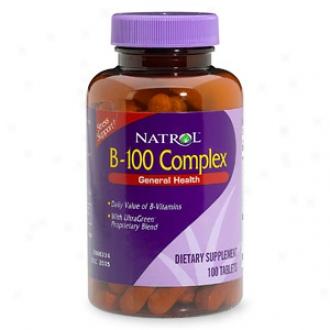 Natrol B-100 Complex, Tablets