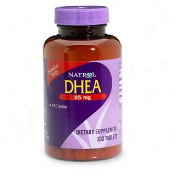Natrol Dhea, 25mg, Tablets