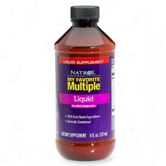 Natrol My Favorite Multiple Liquid Multi-vitamin
