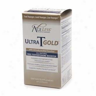 Naturade Ageless Ultra T Gold, Male Tedtosterone Boos5er