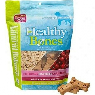 Natural Counterpoise Healthy Bones Dog Treats, Turkey, Oatmeal & Cranberry
