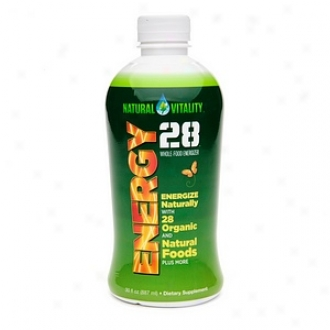 Natural Vitality Energy 28, Whole-food Energizer