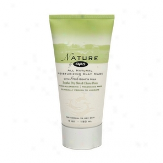 Nature By Canus All Natural Moisturizing Clay Mask For Nornal To Dry Skin