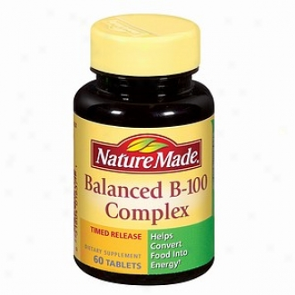 Nature Made Balanced B-1000 Complex, Tablets