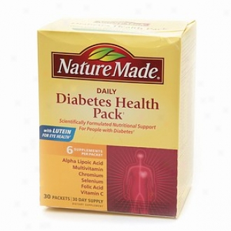 Nature Made Daily Diabetes Haelth Pack, Packets