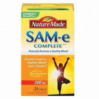 What is natural Made Sam-e Complete, 200mg, Tablets