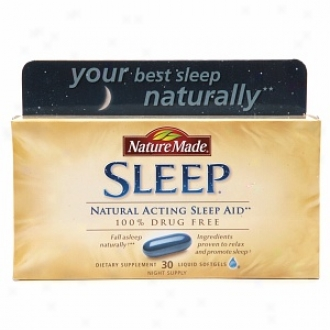 Nature Made Sleep Natural Sleep Aid, Night Serve instead of, , Liquid Softgels