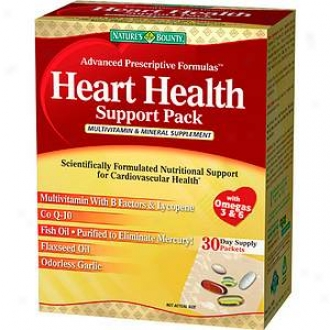 Nature's Bounty Heart Health Support Pack Multivitamin & Mineral Supplement