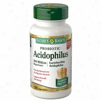 Nature's Boutny Natural Acidophilus Dietary Supplement, Tablets