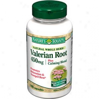 Nature's Bounty Valerian Root 450 Mg Plus Callming Blend, Capsules