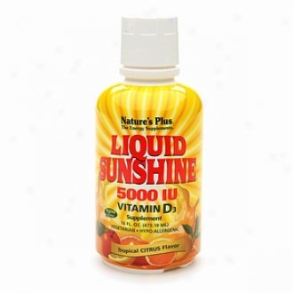 Nature's Plus Liquid Illumination 5000 Iu Vitamin D3, Tropical Citrus