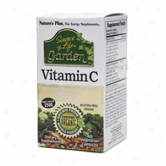 Nature's Plus Source Of Life Garden Vitamin C, Vegetarian Capsules