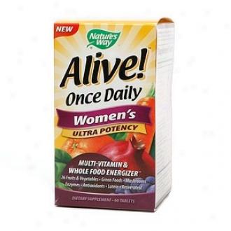 Nature's Way Sensitive! Once Diurnal Women's Ulltra Potency Multivitamin