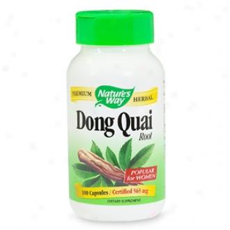 Nature's Way Dong Quai Implant, Capsules