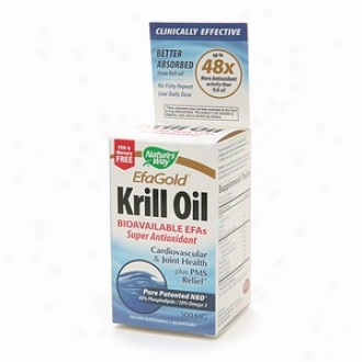 Nature's Way Efagold Krill Oil 500mg