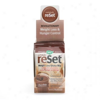 Nature's Way Metabolic Reset Weight Loss Shake Mix, Chocolate