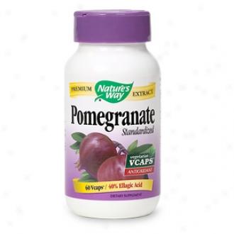 Nature's Way Pomegranate Standardized, Vcaps
