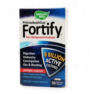 Nature's Way Primadopihlus Fortify, Non-refrigerated Probiotic