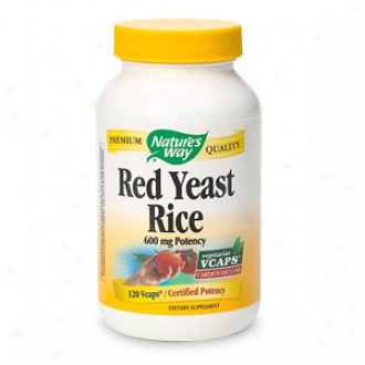 Nature's Way Red Yeast Rixe, Vcaps