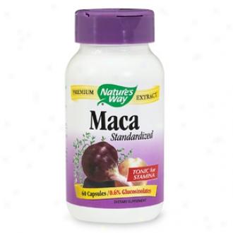 Nature's Wau Standardized Maca, Capsules
