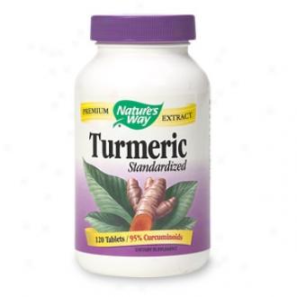 Nature's Way Turmeric Standardized, Tablets